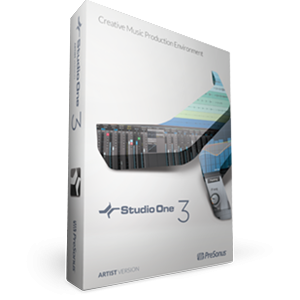 PreSonus Studio One 3 Artist version package