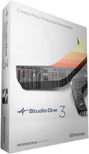 PreSonus Studio One 3 Professional version package
