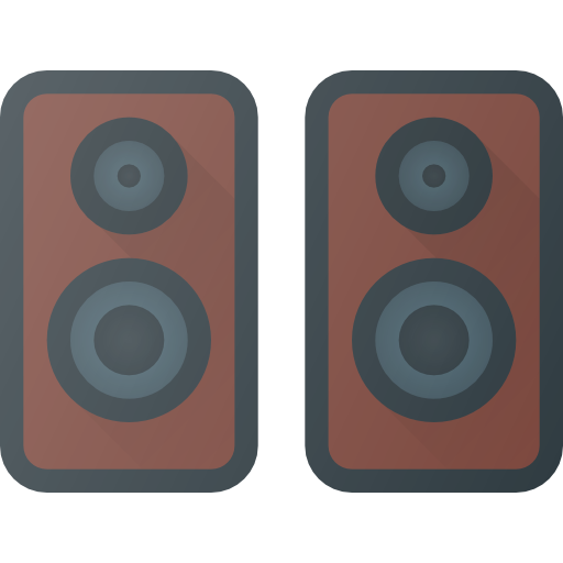 Image icon of a pair of studio monitors