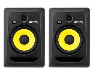 KRK Rokit studio monitor pair