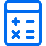 Calculator with add subtract and multiply