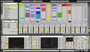 ableton live digital audio workstation for making beats