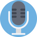Microphone type icon