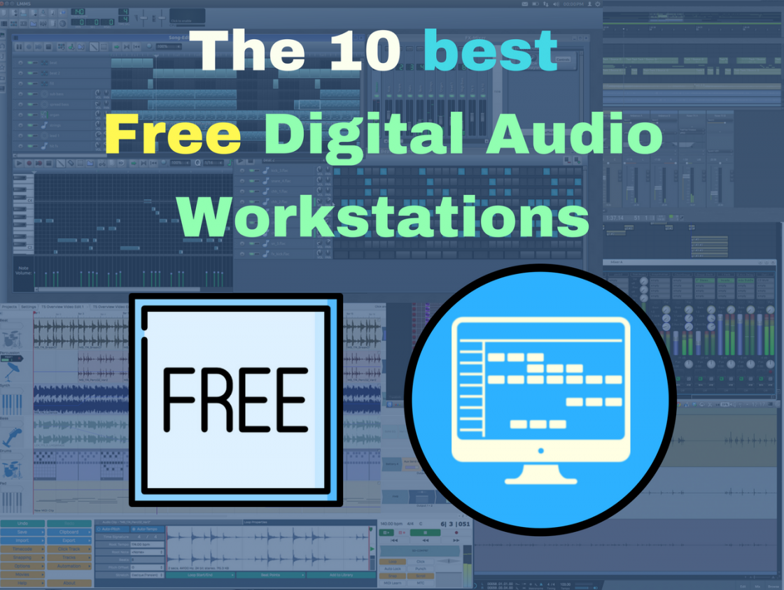 10 Best Free Digital Audio Workstations For Broke Beginner Producers Signal Generator Freeware