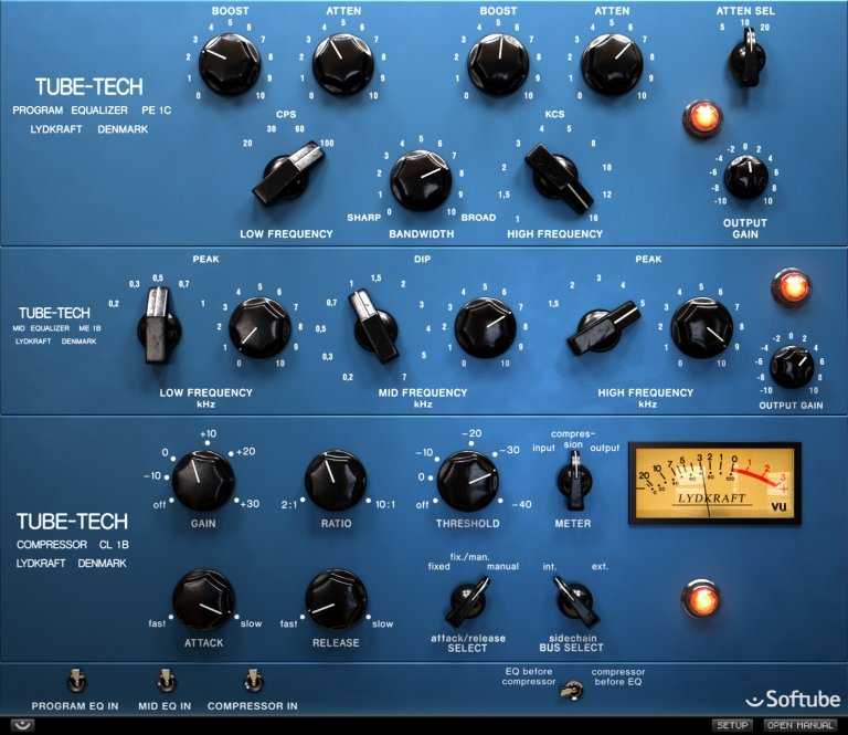 Softube Tube Tech Classic Channel plugin