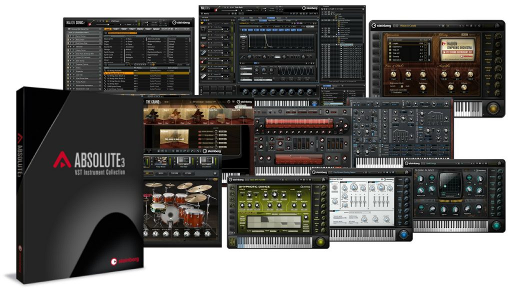 Steinberg Absolute VST Collection 3