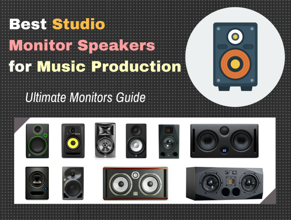10 Best Studio Monitor Speakers for Recording, Mixing