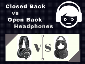 closed back vs open back headphones image