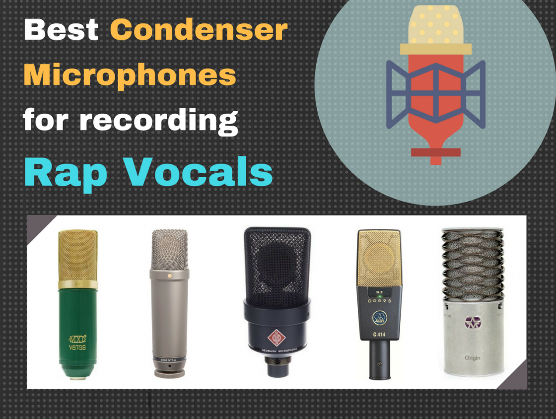 Best Microphone for Rap Vocals 2019 - Top 5 Picks [Producer's Guide]