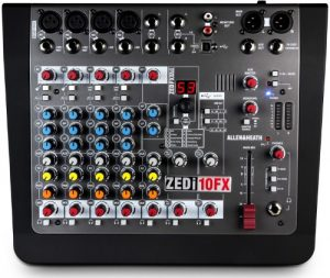 Allen & Heath ZEDi-10FX USB mixer
