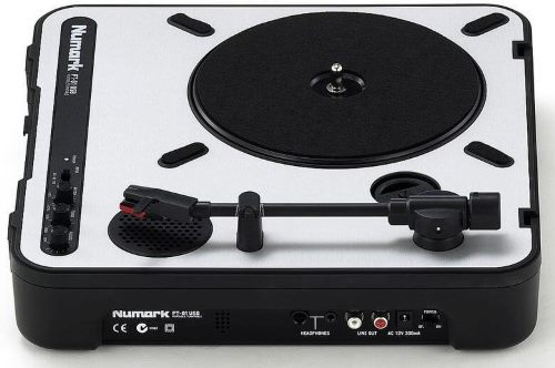Numark PT01USB sampling turntable