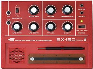 Gakken SX-150 MARK II mini synth