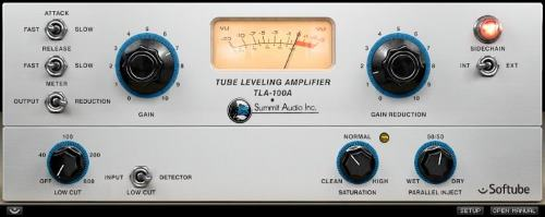 Softube Summit Audio TLA-100 Compressor