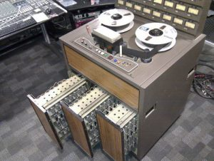 Old-school Studio Tape Machine