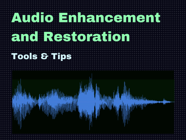 how to enhance audio recording