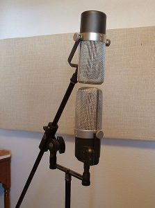 Microphones in Blumlein Technique