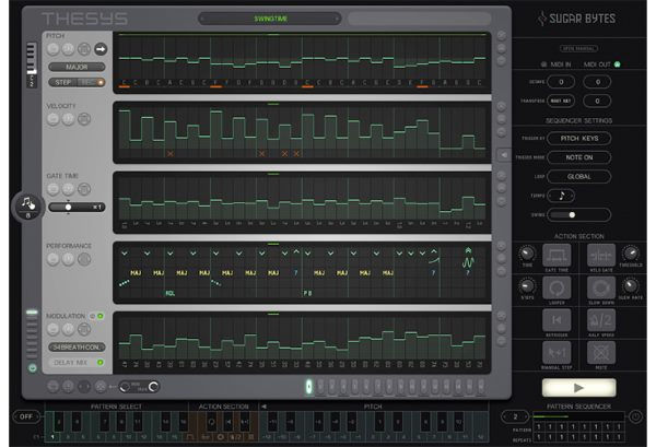 Thesys Sequencer by Sugar Bytes