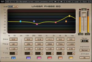Waves Linear Phase EQ