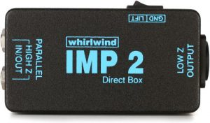 Whirlwind IMP 2 electric guitar DI