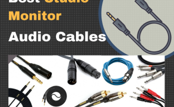 best studio monitor audio cables