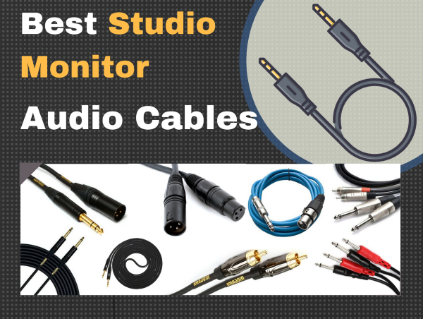 best studio monitor cables for your home studio 2019 pro audio. Black Bedroom Furniture Sets. Home Design Ideas