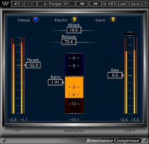 Waves Audio Renaissance Compressor