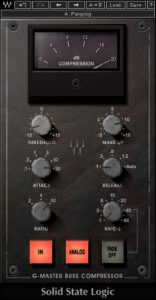 Waves Audio SSL G-Master Buss Compressor