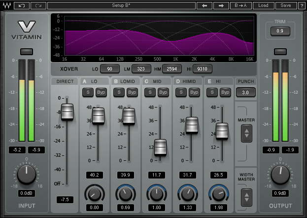 Waves Audio Vitamin Sonic Enhancer