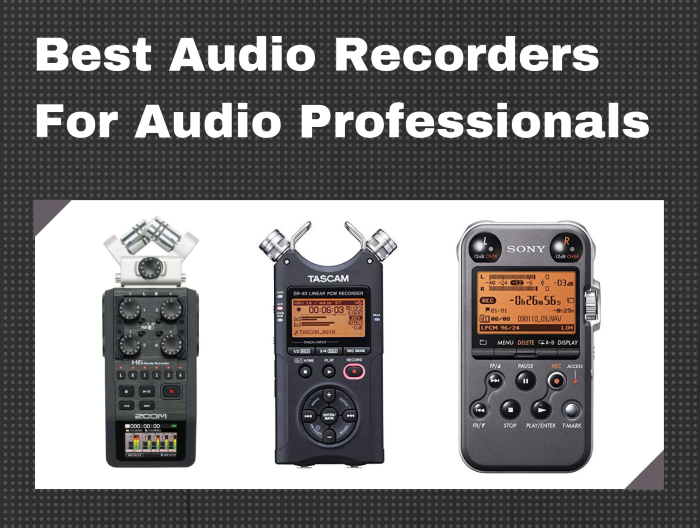 best portable recorder for musicians producers audio professionals. Black Bedroom Furniture Sets. Home Design Ideas