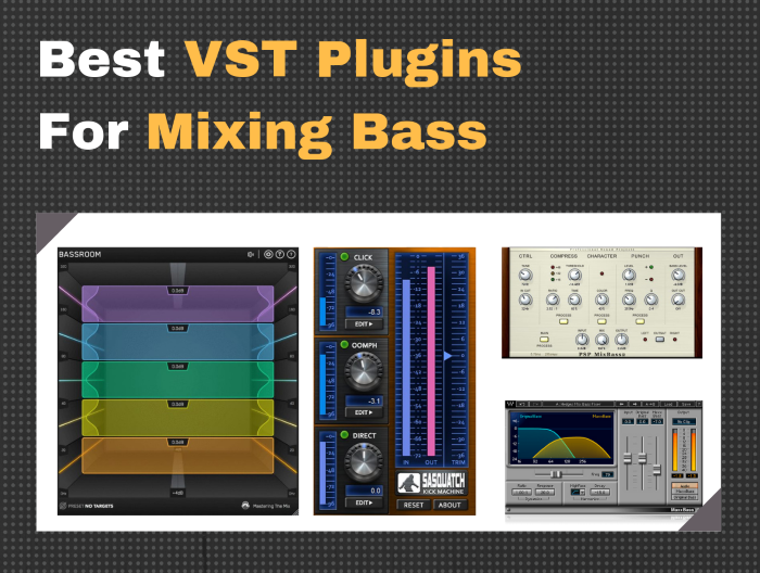 10 Best Plugins for Bass - Enhance Your Bass for a Punchier Mix