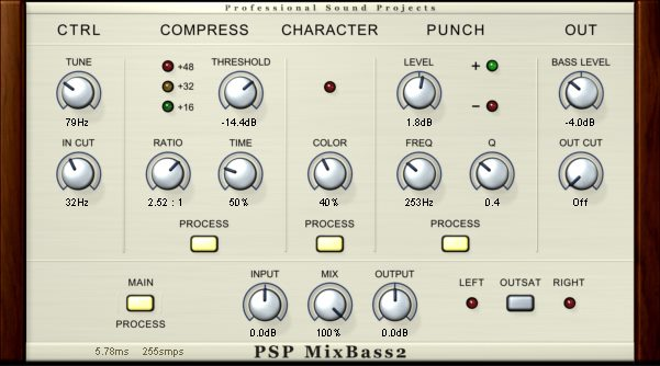 PSP Audioware MixBass