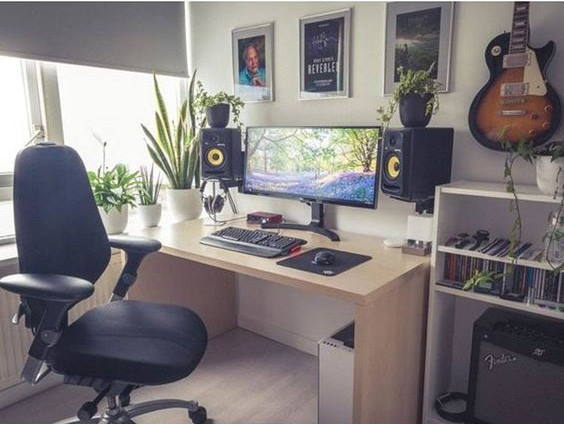 Modern Music Production Workstation