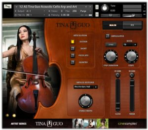 Tina Guo Acoustic Cello