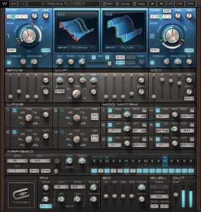 Waves Audio Codex Wavetable Synth