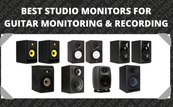 The Best Studio Monitors for Guitar Monitoring & Recording